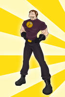 Captain Hammer by Orr-Malus