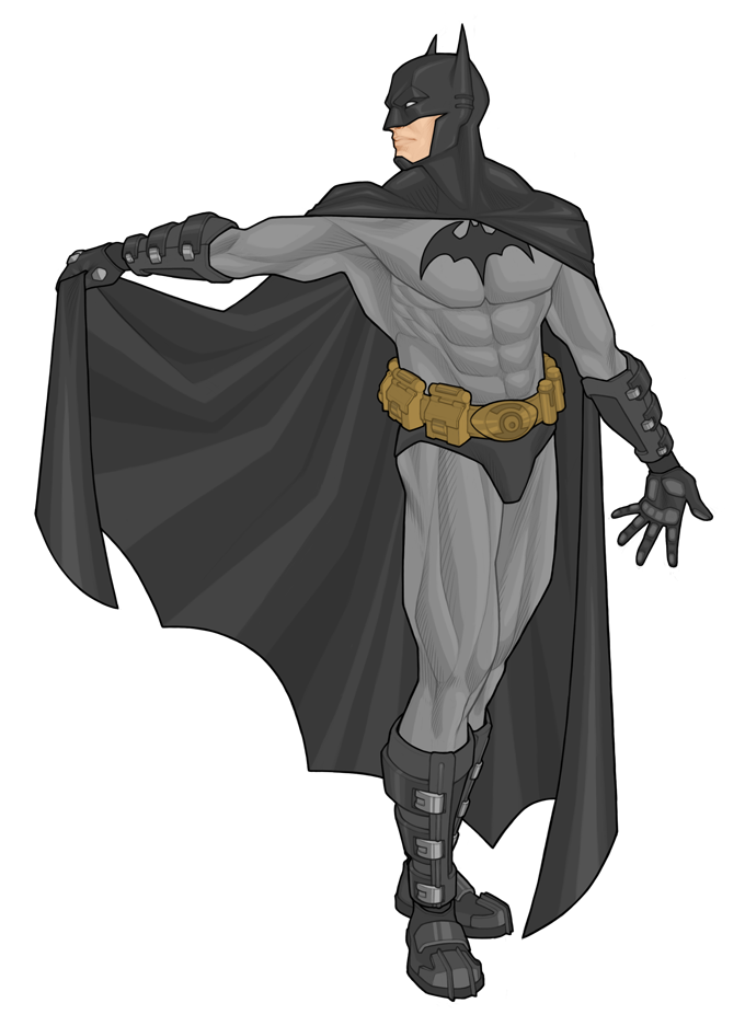 Batman by Georgel-McAwesome