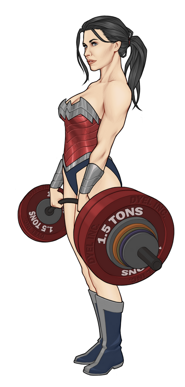 DYEL Wonder Woman by Georgel-McAwesome