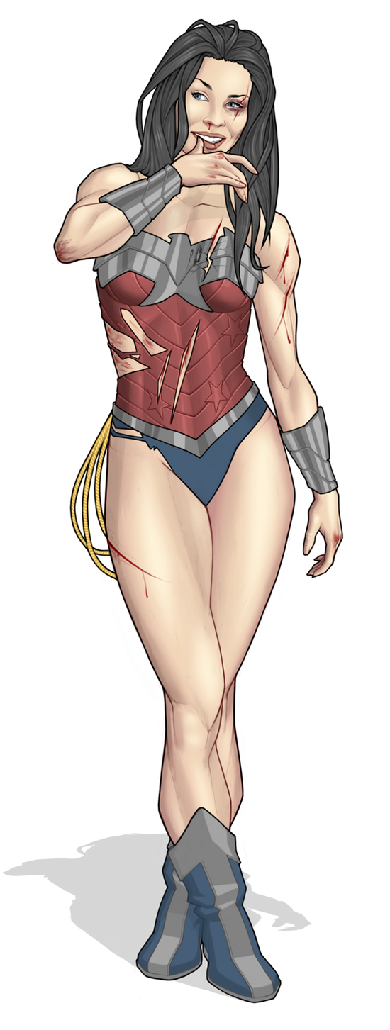 Wonder Woman (another day at the office) by Georgel-McAwesome