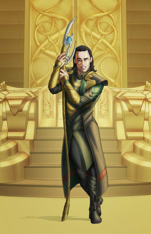 Loki by Georgel-McAwesome