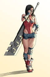 Wonder Woman by Orr-Malus