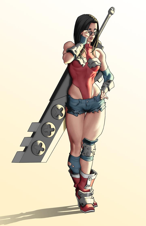 Wonder Woman by Georgel-McAwesome