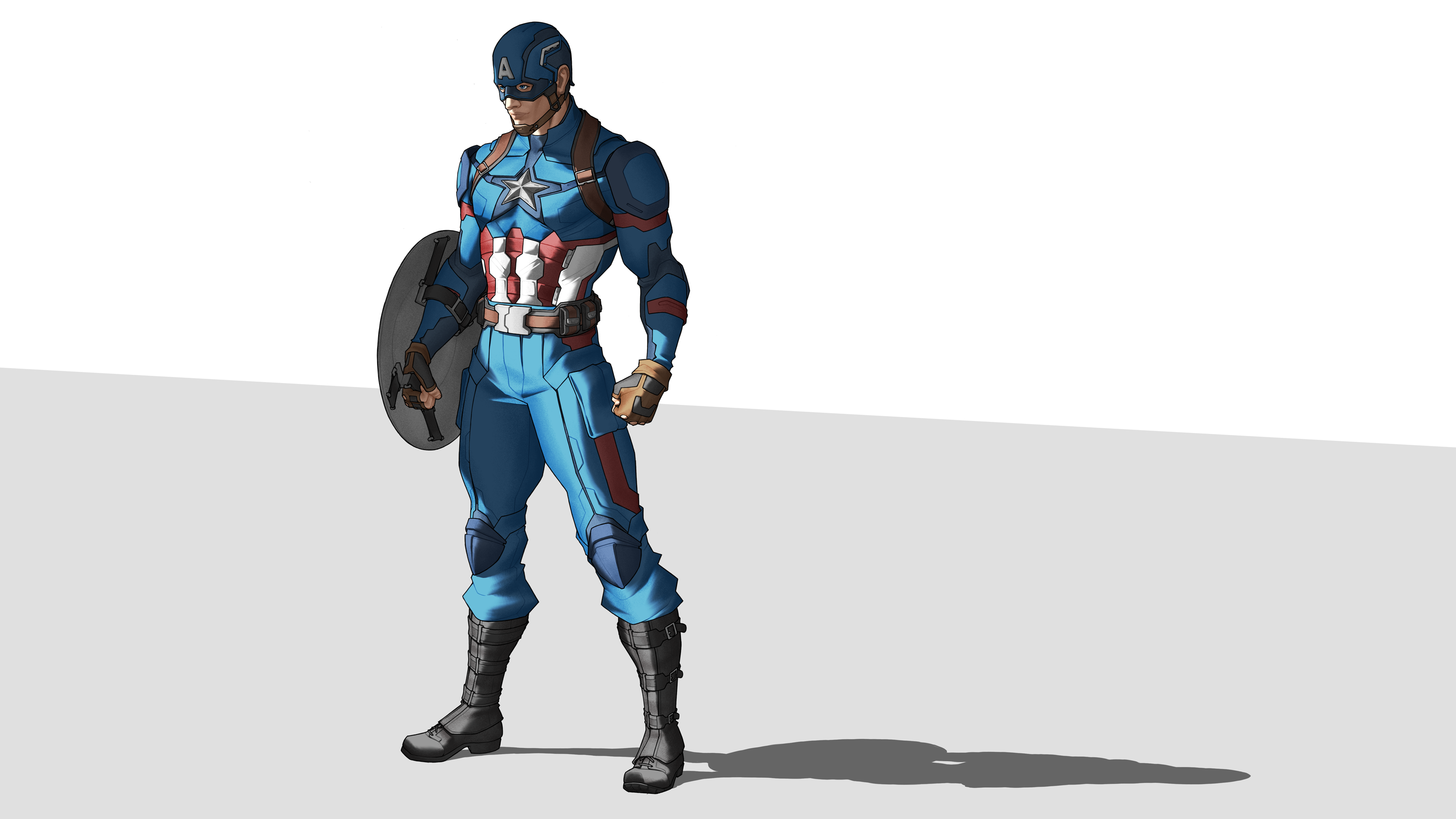 Captain America by Orr-Malus