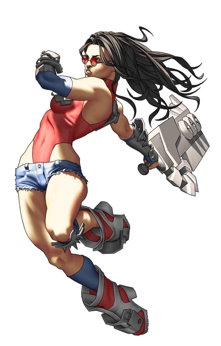 Faux Wonder Woman