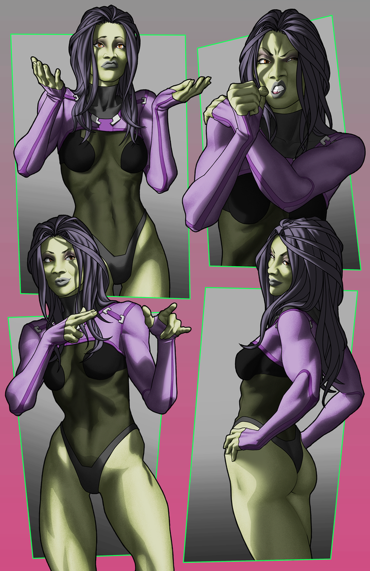 Gamora (expression reel) by Orr-Malus
