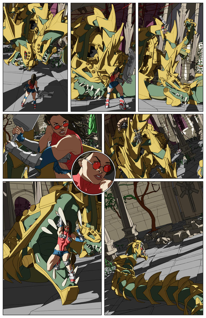 FWW Comic Page 3 color by Orr-Malus