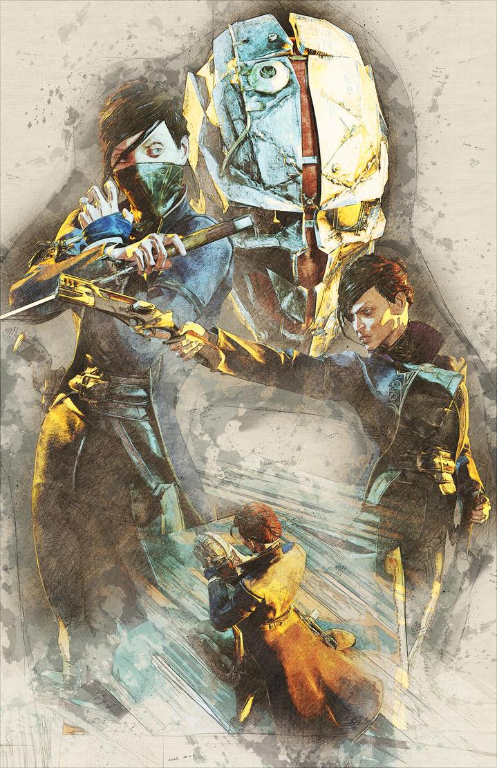 Dishonored 2 Fan Art by Orr-Malus