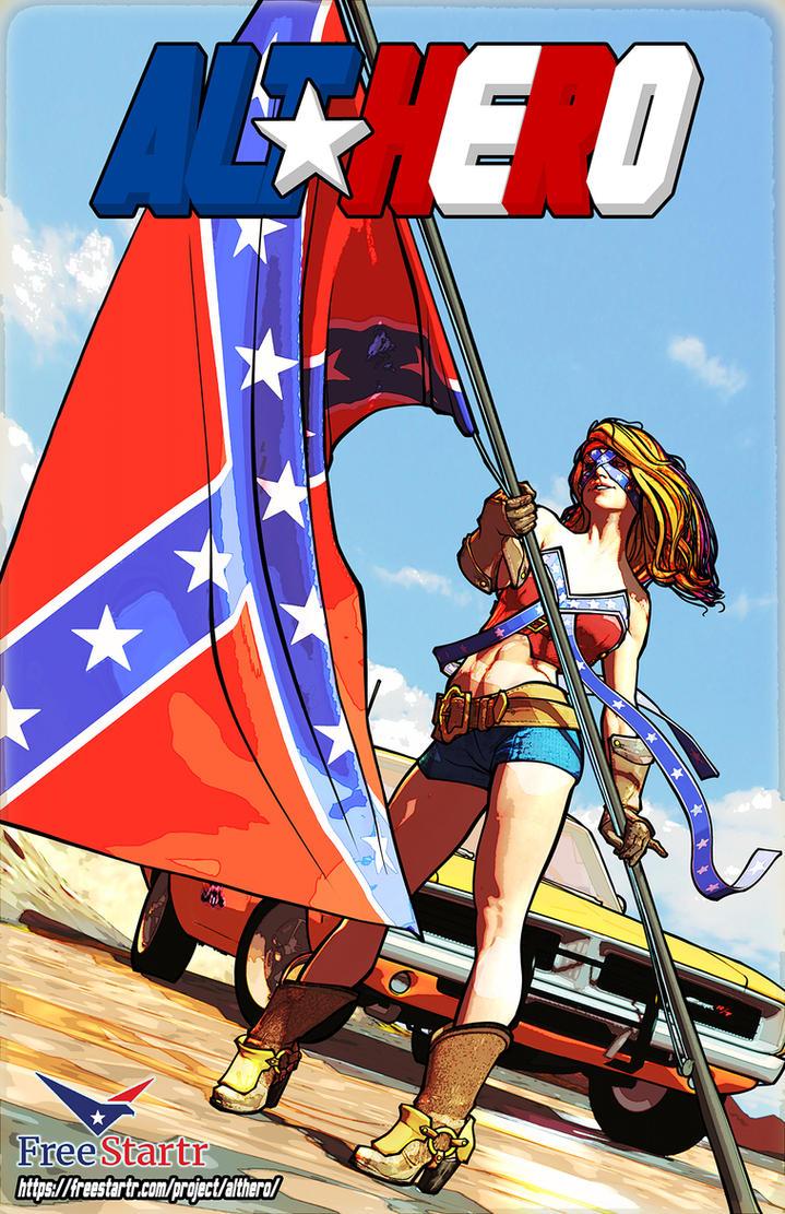 Rebel and General Lee by Orr-Malus