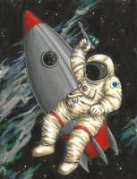 Space Cadet by Quilsnap