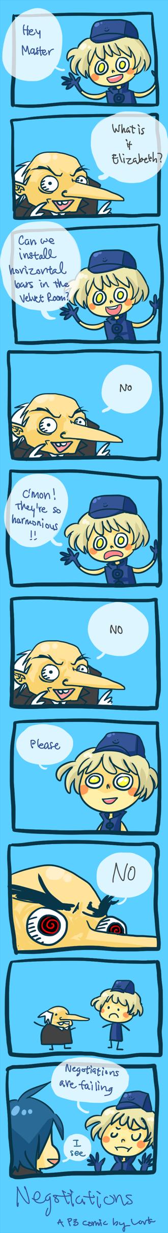 Negotiations by LarkIsMyName