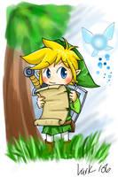 Zelda - Phantom Hourglass by LarkIsMyName