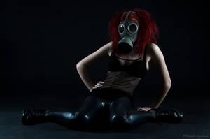 Gasmask photosession 4 by Sierau