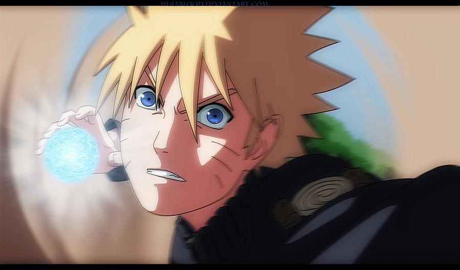Naruto Rasengan by HulfBlood