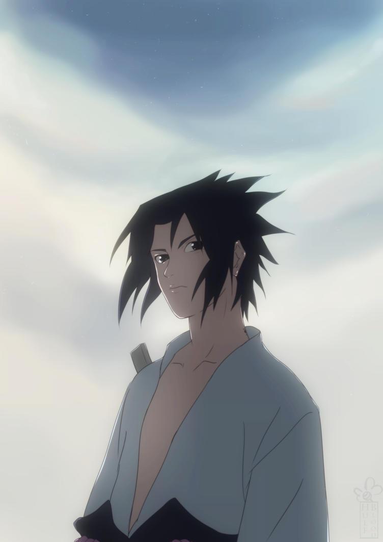 Sasuke Comission by HulfBlood