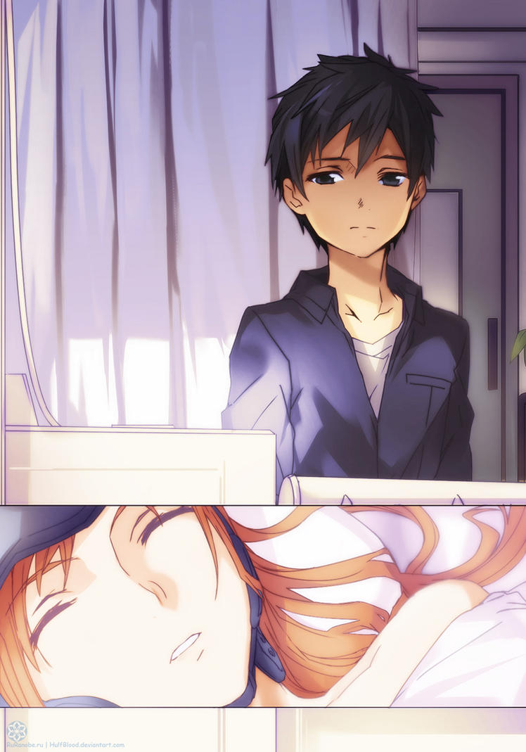 Sword Art Online vol 3 Kirito and Asuna by HulfBlood