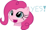 happy pinkie