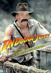 Indiana Jones and the Moustache of Doom by Vanguard3000