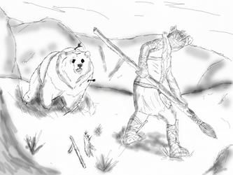 The Stone Punk: Bear Hunt by Vanguard3000
