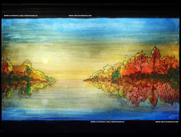 Watercolour Scenery By Vibhas Virwani by VibhasVirwani