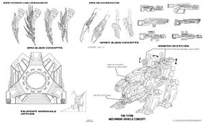 Project KOR teleporter portal weapons and blades