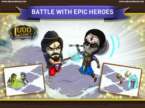 Battle with epic heroes