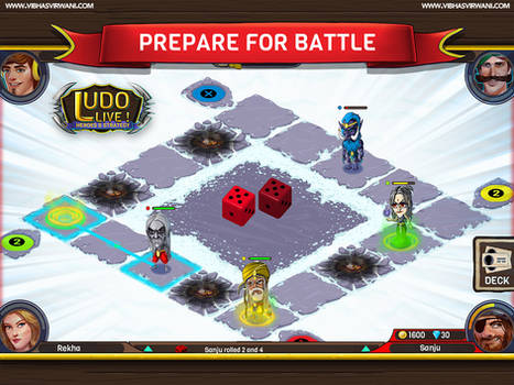 Prepare For Battle (extended Zoomed Out Board)