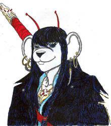 Whitewolf Portrait