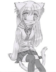 Tiny Catgirl by Hank88