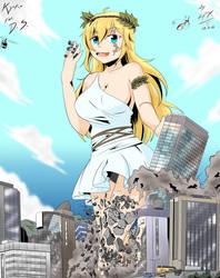 [Commission] GBA - Kyoko's big debut by Hank88