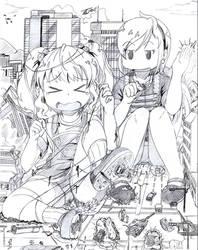 [Commission] Britanny and Jennifer's playground