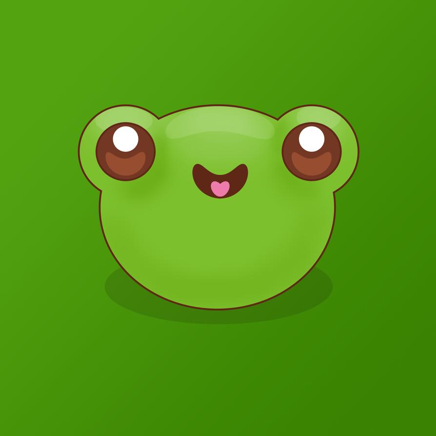 Kawaii Frog by pinkplaytime on DeviantArt