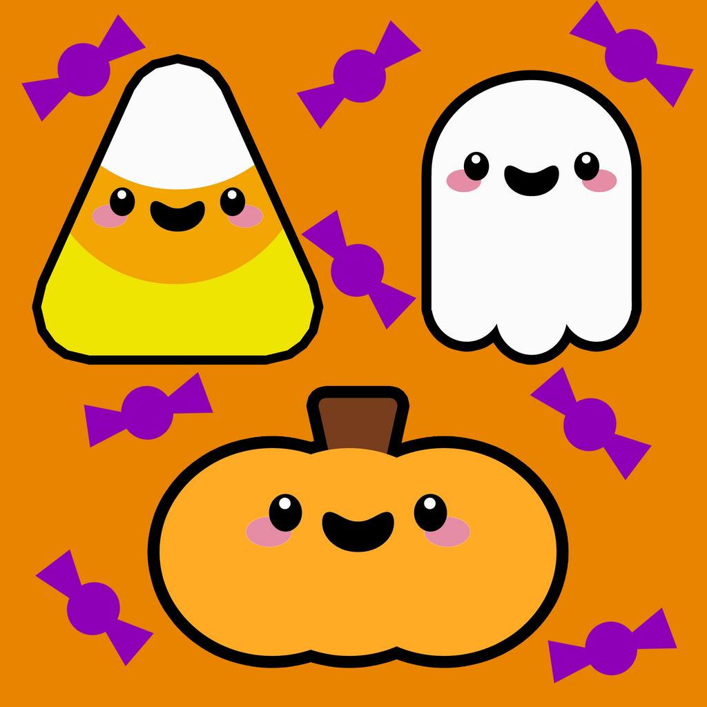 Kawaii Halloween by pinkplaytime on DeviantArt