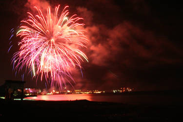 Fireworks in Limassol by MoxMonica