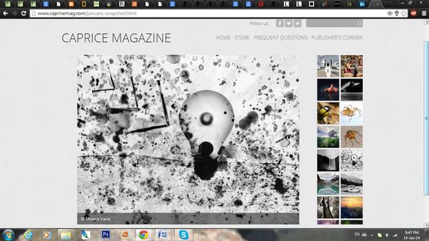 Published in Caprice Magazine_Jan 2014
