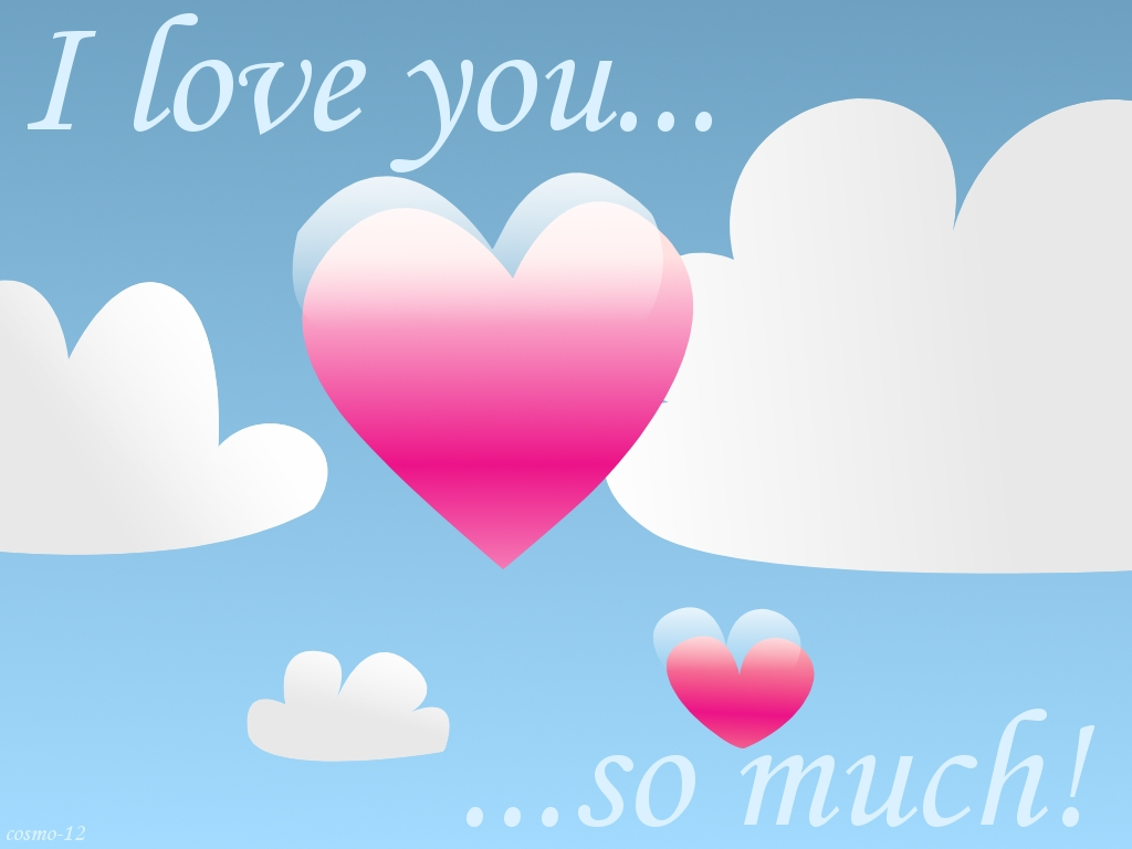 Wallpaper Love U So Much : I love you so much by cosmo-12 on DeviantArt