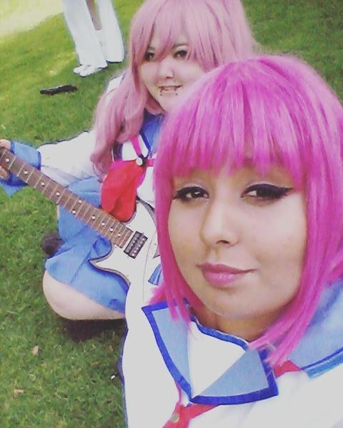 Girls Dead MONSTER - Yui And Iwasawa - Angel Beats by DemonNinjaWolf