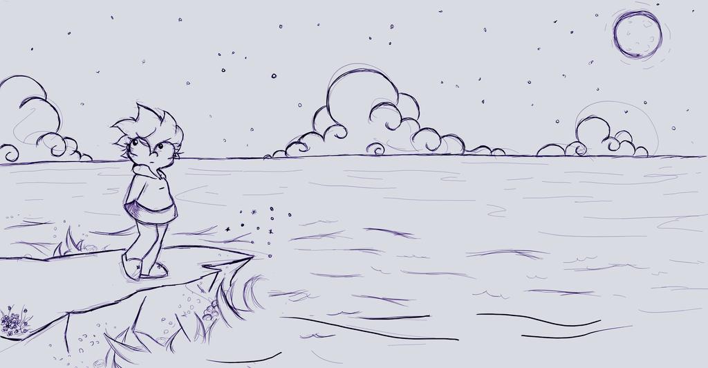 Antes de que salga el sol by lil-worm