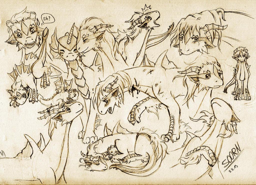 Soorn Sketches by Wollfisch