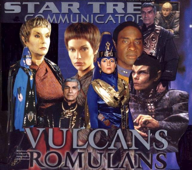 Vulcans and Romulans by Empress-XZarrethTKon