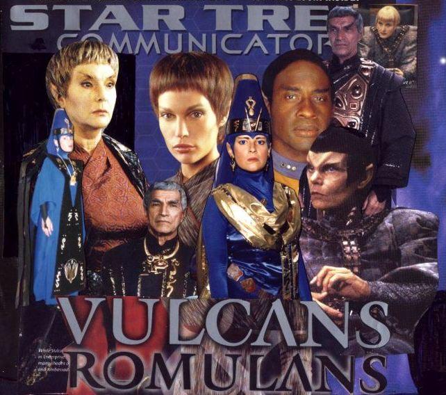 Vulcans and Romulans by Empress-XZarrethTKon