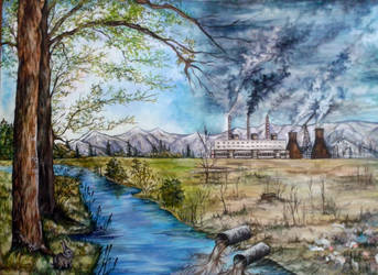 The effects of environmental pollution by DragonRider19982010