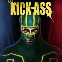 KICK ASS by huzzain