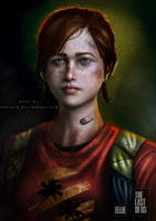 THE LAST OF US (ELLIE) by huzzain