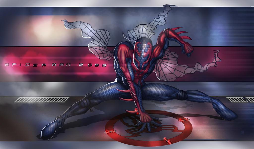 Spidey 2099 By Huzzain On DeviantArt