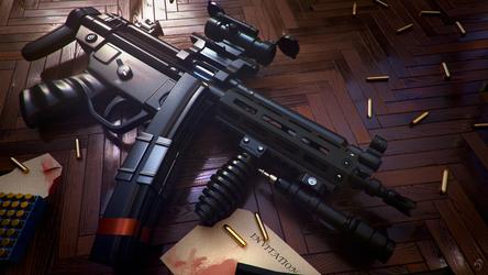 MP5 by huzzain