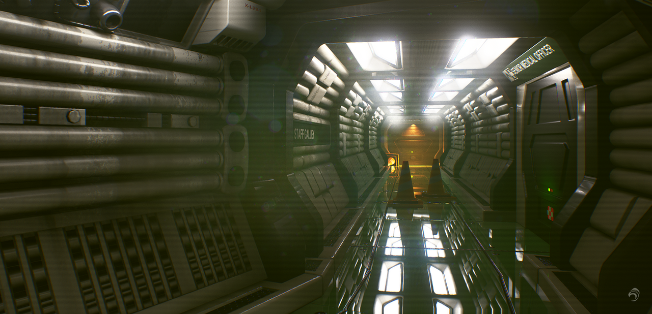 ALIEN ISOLATION (REVISIT) by huzzain