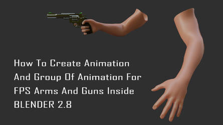 Create animation and animation groups blender 2.8 by huzzain