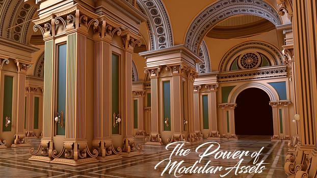 The Power Of Modular Assets in Blender 2.8