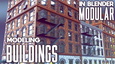 Modeling Buildings In Blender